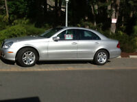 2003 Mercedes-Benz E-Class Silver Sedan