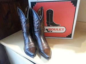 Womans Boulet cowboy boots Excellent condition