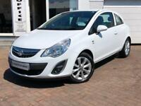 2012 12 Vauxhall/Opel Corsa 1.2i 12v 85ps a/c Active~VERY LOW MILEAGE~1YRS MOT