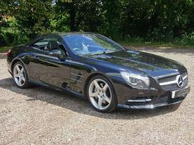 Mercedes-Benz SL Class 3.5 SL350 BlueEFFICIENCY 7G-Tronic 2dr (start/stop) - £10