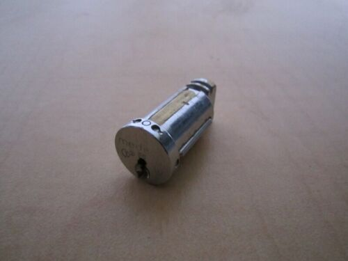 Used Medeco Vending Machine Plug Lock Cylinder with Key
