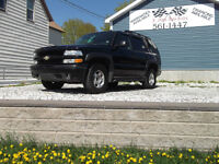 2005 Chev Tahoe  Z71 FULLY LOADED HEATED LEATHER&ROOF!!!