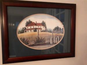 Framed print by Catherine Karnes Munn