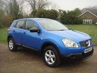 Nissan Qashqai 1.6 2WD Visia, JUST SERVICED, 123K. BLUETOOTH, GOOD CONDITION