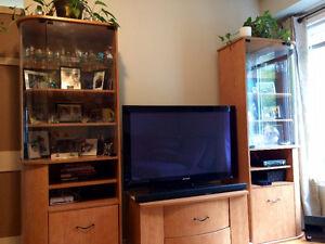 Beautiful entertainment unit Gatineau Ottawa / Gatineau Area image 1