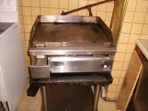 Commercial table top gas grill ..