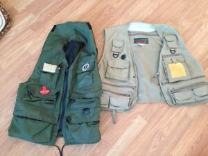 FISHING VESTS.INFLATABLE FLOAT FISHING VEST/ FLY FISHING VEST