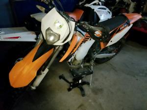 KTM EXC 350 2012 DUAL SPORT