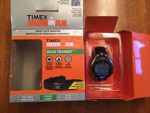 IronMan Road Trainer Heart Rate Monitor Watch