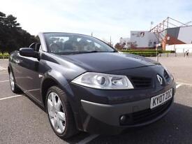 Renault Megane 1.6 VVT convertable Dynamique 2007 92000 MILES
