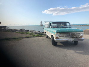 SUPER CLEAN FORD F100 - REBUILT ENGINE - DRIVEN HOME FROM BC