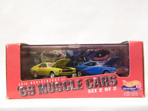 Hot Wheels 30th Anniversary Collectibles - 1969 AMX & Plymouth H
