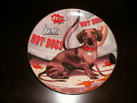 Dachshund Plate, Sandcast Dog, Ornaments