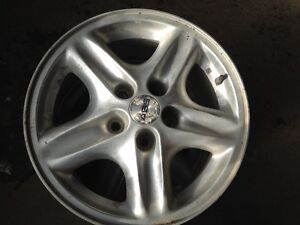 2 ABS GM alloy rims 5x115 Bonnevile Grand AM/Prix