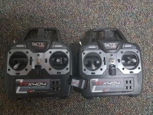 2 x TTX404 Tactic radio + 1 Tactic TR624 Rx - 55$