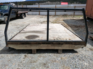 REDUCED!!  Flat deck for a truck