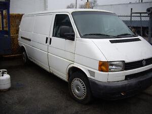 1997 Volkswagen Transporter Minivan, Van
