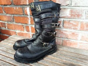 Classic Motorcycle Boots