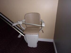 Chaise d'escalier modèle siena (Stannah) A600