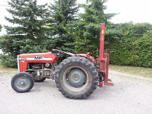 235 MASSEY FERGUSON TRACTOR WITH FORK LIFT