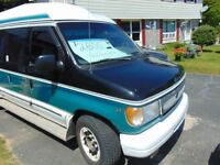 Make an Offer! Full Sized '98 Ford Camping Van