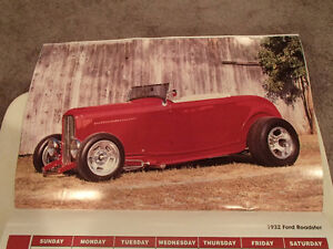 2000 DREAM MACHINES Car 16 Month CALENDAR. Issued by HUCK Fasten Sarnia Sarnia Area image 9