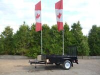 4'x8' Boxer Utility Trailer by Miska North Bay Ontario Preview