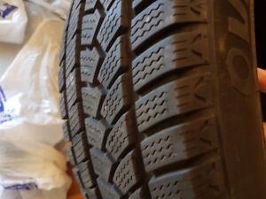 Full Set Used Winter Tires - 185/60R15