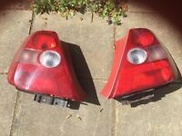 Rear lights for Honda Civic great condition