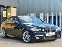 2016 66 BMW 5 SERIES 3.0 530D M SPORT 4D 255 BHP DIESEL