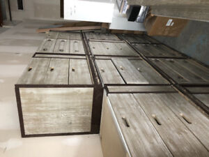 Selling out sale!! Misc cabinets and doors