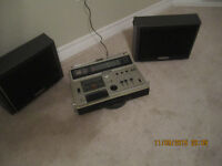 Sony portable Stereo Cassette  player CF-610