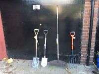 Brand new garden hand tools.