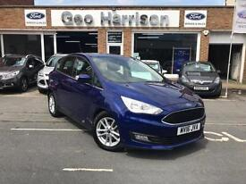 Ford C-MAX 1.0 ( 125ps ) EcoBoost ( s/s ) 2016.25MY Zetec - JUST 2,000 MILES!!