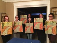 Art classes for adults and teens, west Hamilton
