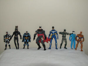 FOR SALE A LOT OF ACTION FIGURES LIKE BATMAN - SPIDER-MAN - HULK