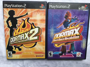 PlayStation 2 Dance Dance Revolution 1 and 2