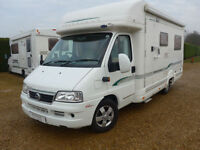 Bessacarr E720 2 Berth 2.8 JTD Fiat Diesel, Awning, U shaped Lounge