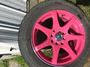 Mags rose a vendre Pink Rims for sale