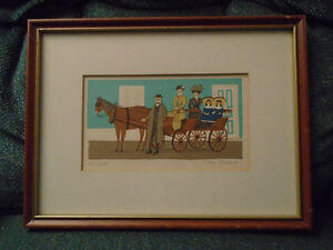 20TH C. DAN BALES SERIGRAPH LIMITED EDITION