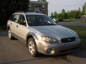 Subaru Outback 2005 2.5L - Pour pièces ou bricoleur