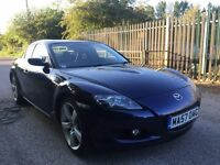 Mazda rx8 low mileage