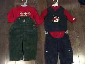 3-6 months boy Christmas outfits