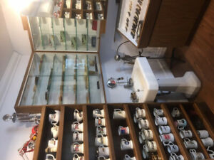 Antiques, Mancave Decor, Barber Supplies
