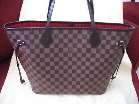 ** LOUIS VUITTON LV NEVERFULL MM HANDBAG**