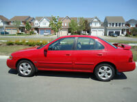 2005 Nissan Sentra Sedan  With NEW SAFETY AND EMISSION TEST!!!