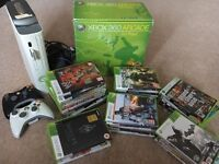 Xbox 360 and 36 games