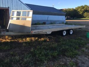 Four place snowmobile trailer for sale