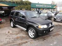 Mitsubishi Shogun Sport 2.5TD Warrior 4X4 DIESEL FULL LEATHER FULL MOT 2005