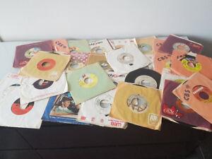 45 RPM Vinyl Records - Rock/Pop - 30+ Records